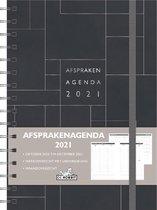 Hobbit Afsprakenagenda - A5 - Zwart - Hardcover -2021