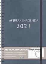 Hobbit Afsprakenagenda - A4 - Donker blauw - Spiraal - 2021