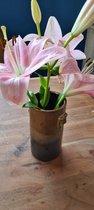 Rich koperen keramische pot 15 cm PTMD