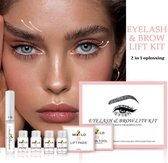 Wimper & Wenkbrauw Lifting Set - Wimperlift - Wenkbrauwlift - Lashlift - Browlift - Proffesional Wimperlifting - Lash Lift - Wimperkit - Wenkbrauwkit - Permanent Gekrulde Wimpers - Lashes and Brows - Lash & Brow Kit