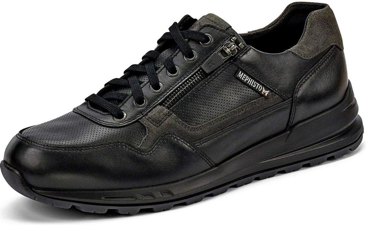 Mephisto BRADLEY heren sneaker - zwart - maat 42.5