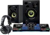 Hercules DJStarter Kit - DJ controller, speakers en DJ koptelefoon - Zwart