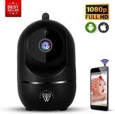 HD Wifi Babyfoon met Camera – Bewakingscamera – NL iOS/Android App – Zwart