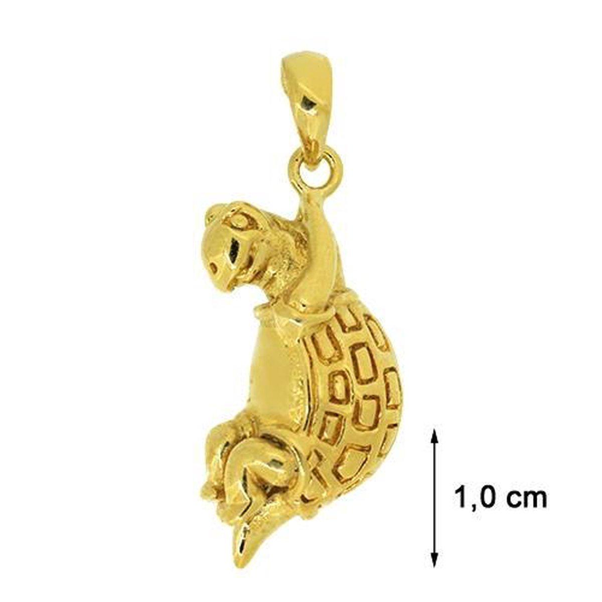 Blinx Jewels Vergulden Hanger Schildpad
