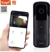 FlinQ Slimme Video Deurbel - FULL HD Camera - Draadloos