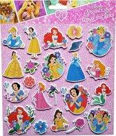 "Disney Foam Stickers ""Princess"" +/- 22 Stickers"