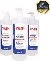 Handgel Voordeelverpakking 3 x 1000 ML - Yari Met Pomp