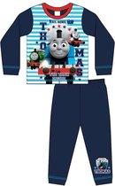 Thomas de Trein pyjama maat 110 - blauw gestreept