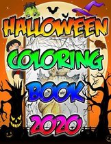 Halloween Coloring Book 2020