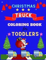 Christmas Truck coloring book for toddlers