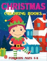 Christmas Coloring Books For Kids Ages 4-8