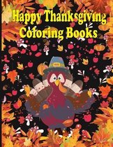 Happy Thanksgiving Coloring Books