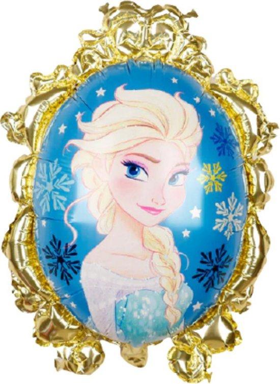 Frozen Ballon - 71 x 55 cm - Disney - Frozen 2 - Disney Princess - Ballonnen - Elsa - Goud