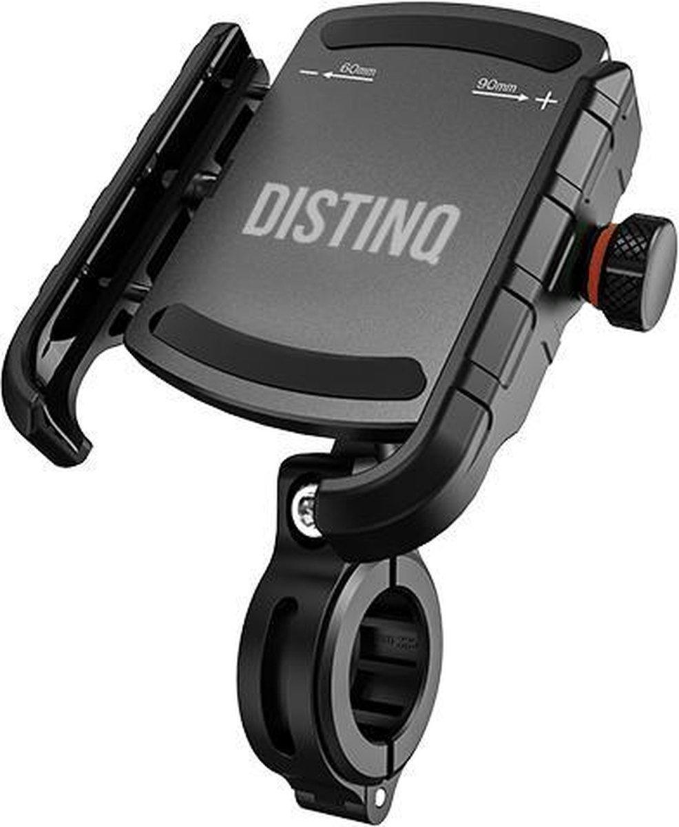 DistinQ Telefoonhouder Fiets - Universeel - 360 Graden Draaibaar - Smartphone & GSM Telefoon Fietsho