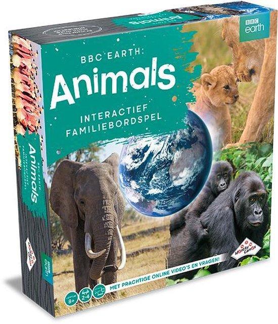 Thumbnail van een extra afbeelding van het spel 1X Identity Games BBC Earth Animals Bordspel + 1X Repos Production Concept Kids Dieren: Perfect aanvullende set - Sinterklaas - Kerst - Verjaardagen etc. Uniek! + 2 ebooks
