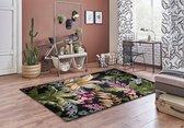 Aledin Carpets Savanah - Tuintapijt - Laagpolig - Vloerkleed 160x230 cm - Meerkleurig - Buitenkleed