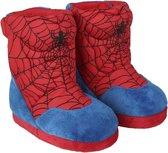 Marvel - Spiderman - Hoge Sloffen - Rood / Blauw