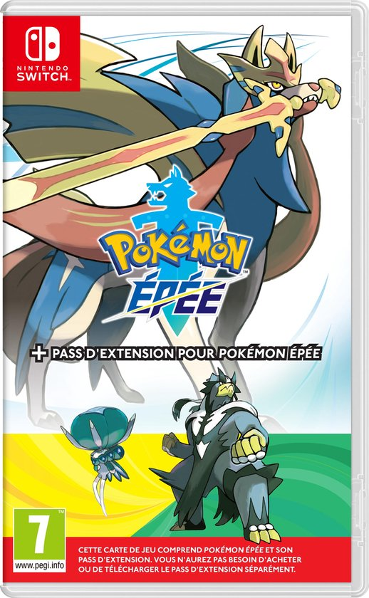 Pokémon Sword + Expansion Pass - Switch (Frans)