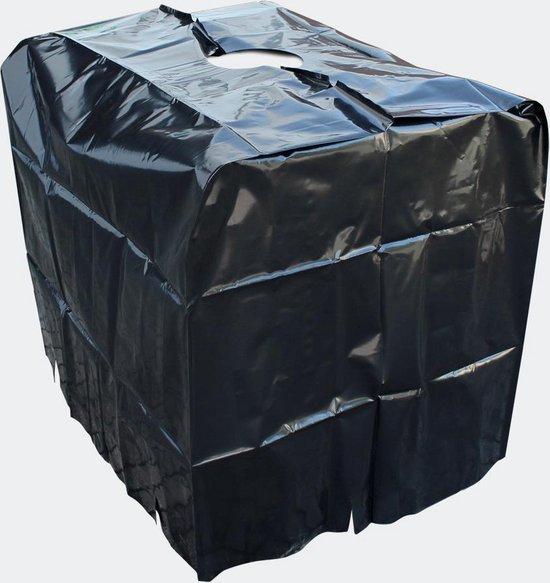 Beschermhoes voor IBC-container regenwatertank 1000 liter; Dekzeil, beschermzeil, afdekzeil voor regenwater tank water vat wateropslag - Multistrobe