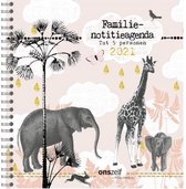 Afbeelding van Safari 2021. familie notitie agenda