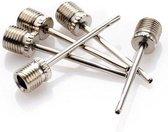 Premium Ballenpomp naalden - 5 stuks - naald 8mm schroefdraad - naald ventiel