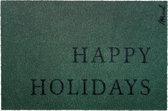 Zara kerst deurmat - Happy Holidays - Mad About Mats - 50x75cm