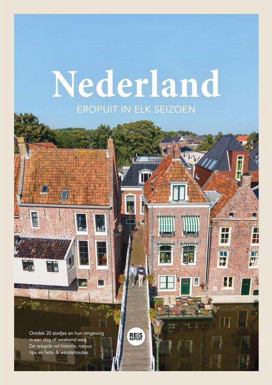 Boek cover Nederland reisgids 2021 - Eropuit in elk seizoen - Stadjes & omgeving + Inclusief gratis app van Marlou Jacobs & Godfried van Loo (Paperback)