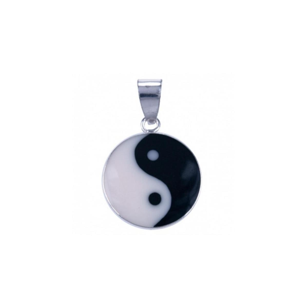 House of Jewels - Klein Zilveren Yin Yang Hanger - 8mm - House of Jewels