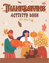 Thanksgiving Activity Book for Adults