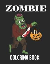 Zombie Coloring Book: : White Background