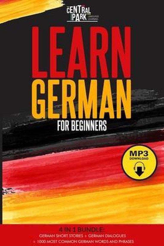 Learn German for Beginners - 4 in 1 Bundle