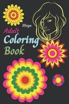 Virgo Adult Coloring Book