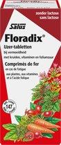 Salus Floradix IJzer-tabletten – Bij vermoeidheid – Voedingssupplement met ijzer – 147 tabletten