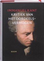 Boek cover Kritiek van het oordeelsvermogen van Immanuel Kant