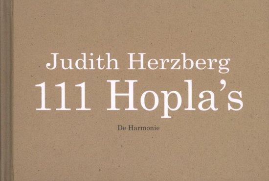 Cover van het boek '111 Hopla's' van Judith Herzberg