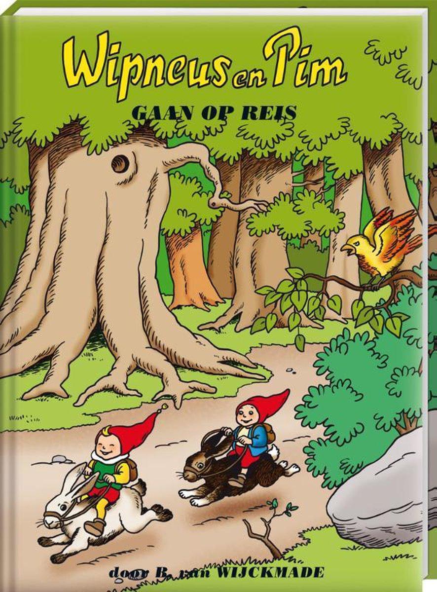 Wipneus en Pim - Wipneus en Pim gaan op Reis - Kinderboek - 15,5 x 20,5 x 1 cm