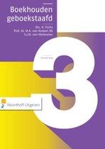 Boek cover Boekhouden geboekstaafd 3 van Henk Fuchs
