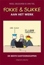 Boek cover Fokke & Sukke 1 -   Fokke en Sukke aan het werk van Reid (Hardcover)