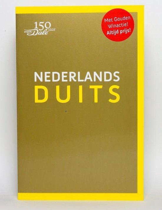 Boek cover Van Dale. Nederlands-Duits Pocketwoordenboek van Diverse auteurs (Paperback)