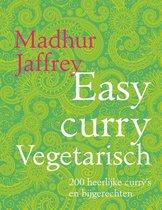 Boek cover Easy curry Vegetarisch van Madhur Jaffrey