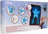 Disney Frozen 2 Prachtige Ster Lantaarn met LED Verlichting – Knutselpakket met Crepe Papier - Knutselen voor meisjes
