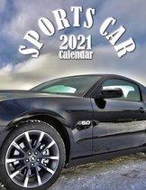 Sports Car 2021 Calendar