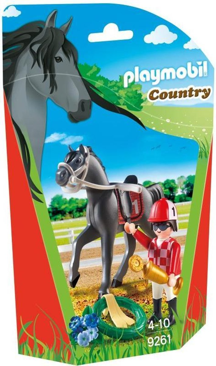 9261 Playmobil Jockey