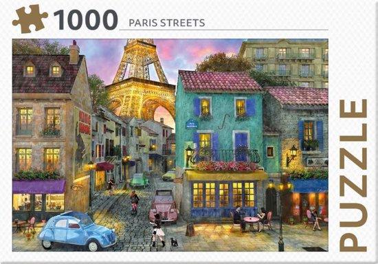 Afbeelding van Rebo legpuzzel - 1000 st - Paris Streets - Premium Quality speelgoed