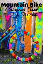 Mountain Bike Coloring Book For Kids