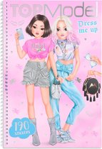 Top Model - Dress me up Design Book - Kitchy Angle (0411444) /Arts and Crafts