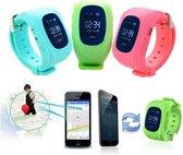 Kinder Smartwatch - Zwart - GPS - kinderen - smartwatches - gps tracker
