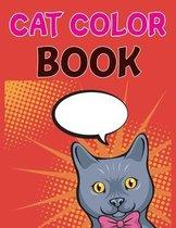 Cat Color Book