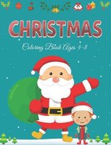 Christmas Coloring Book Ages 4-8