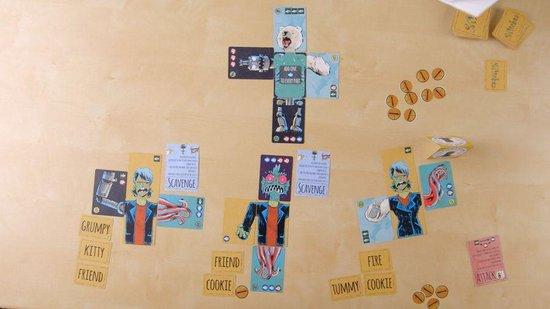 Afbeelding van het spel Stitches A Card Game of Monstrous Proportions - Engels